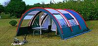 Палатка люкс с коридором и шатром 4х местная Tuohai 3017