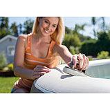 Intex Набор для чистки СПА-бассейнов, сачок, щетка, скребок вотерлинии, фото 3
