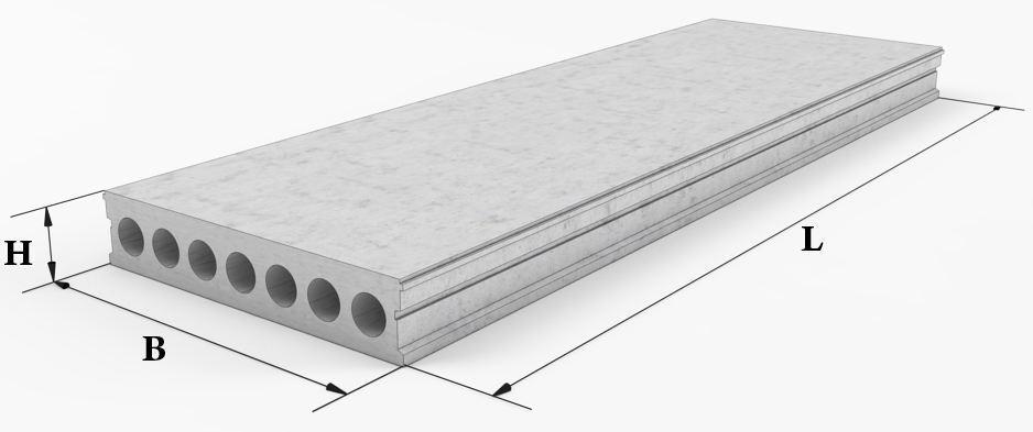 Плита бетона керамзитобетон на чертеже
