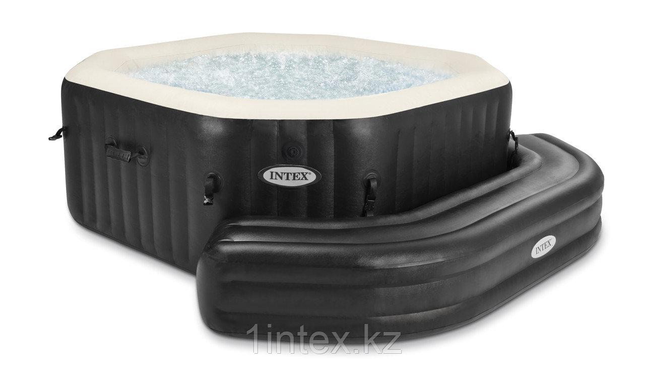 Intex Надувная скамья 211х66х34см, для СПА бассейнов Intex, темно-коричневый (для 28453/28454/28455/28456)