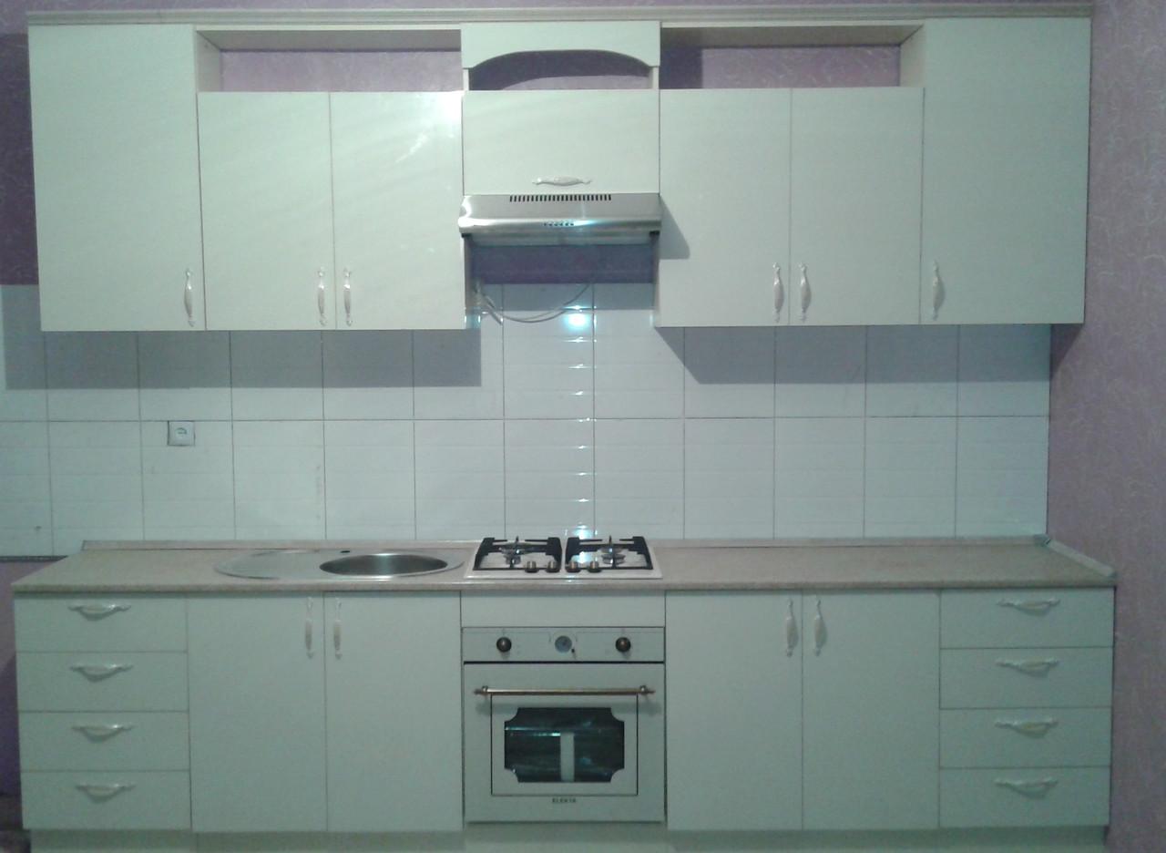 Кухонный гарнитур глянцевый