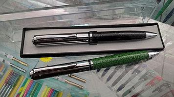 Ручка автоматическая с вставками под кожу