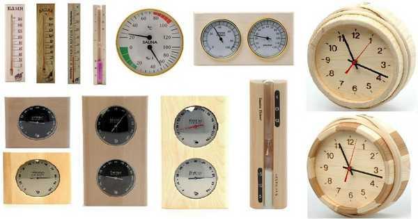 Термометры и термогигрометры для бани и саун