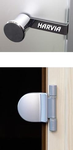 Навесы для стеклянной двери Harvia