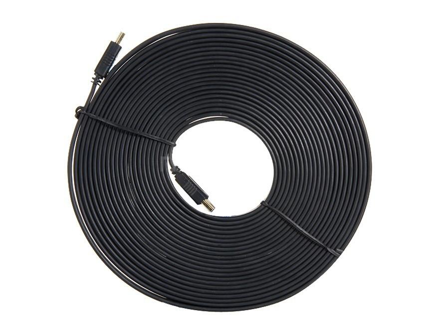 Кабель HDMI 15 метров плоский v1.4