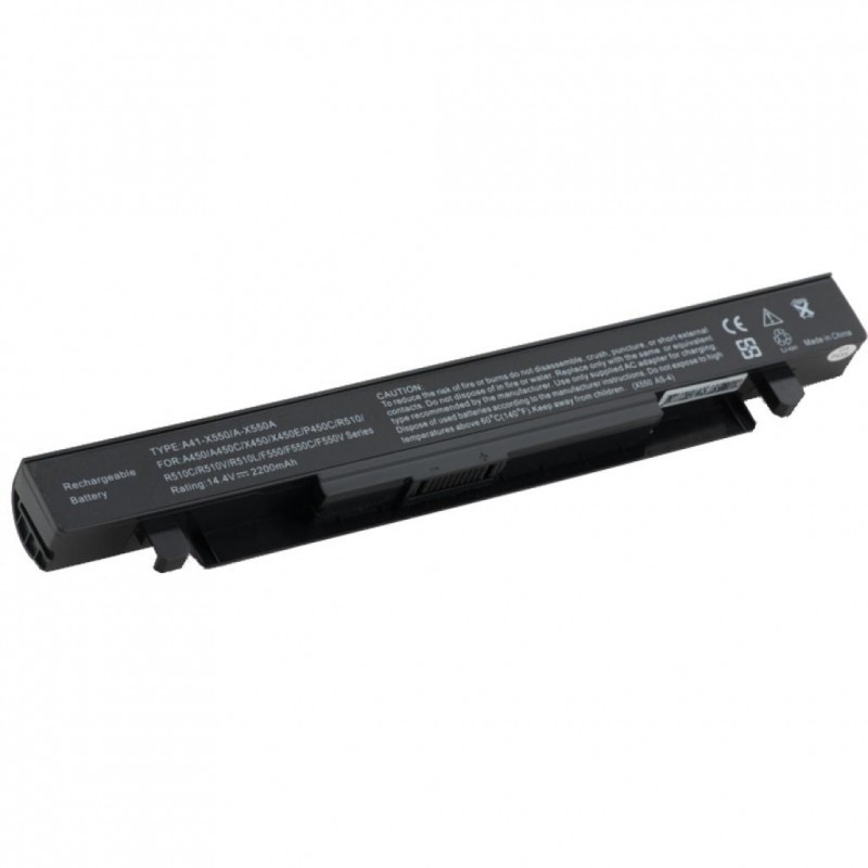 Аккумулятор для ноутбука Asus A41-X550 (14.4V 2200 mAh)