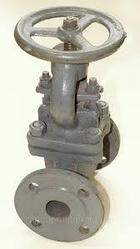 Клапан запорный стальной фланцевый Ру40 15с22нж