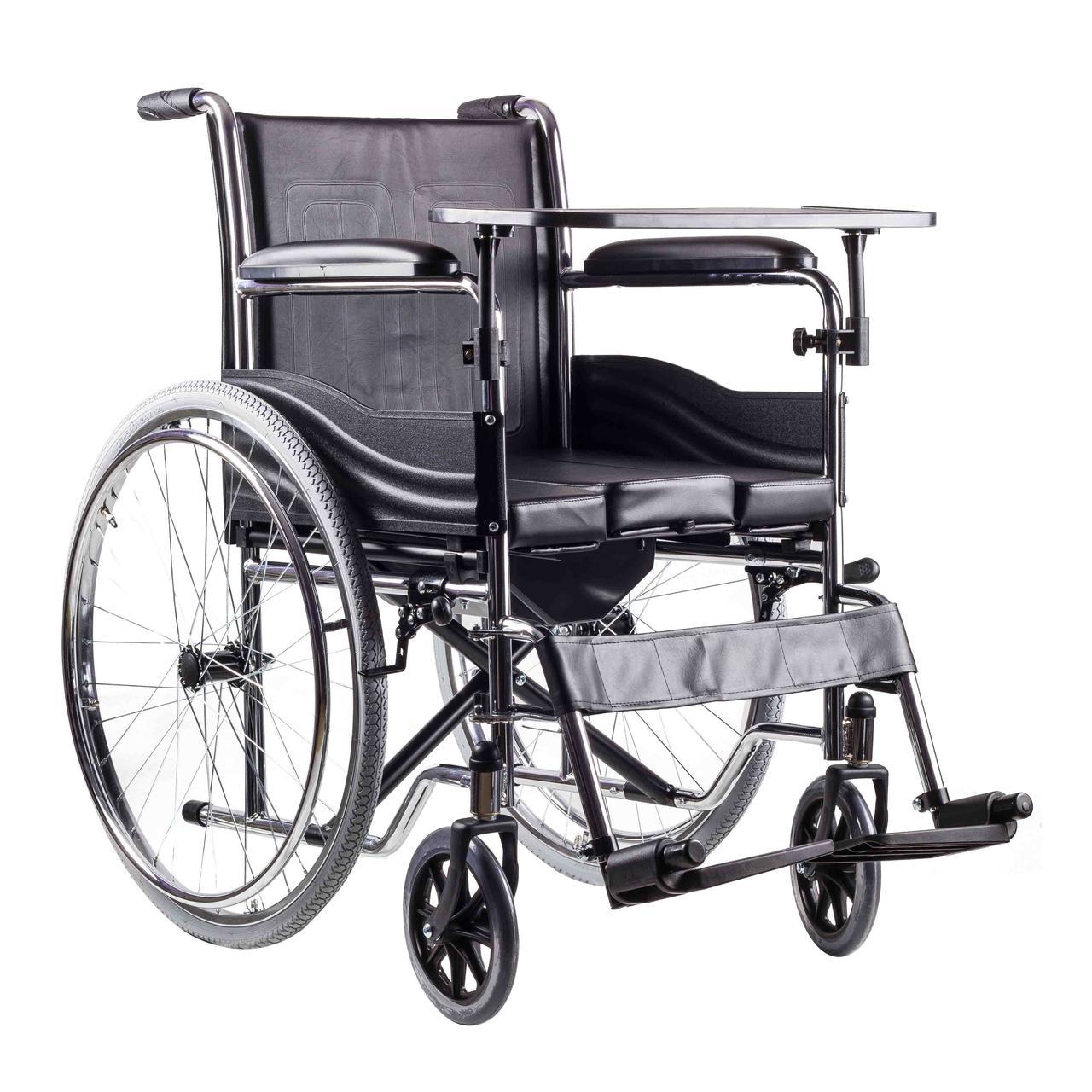 Кресло инвалидное H005B (с сан. оснащ.)