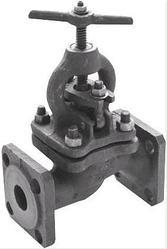 Клапан запорный чугунный фланцевый 15кч16п Ру25