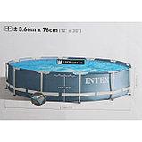 Intex Каркасный бассейн Prism Frame 366x76 см, 6503л., фото 4