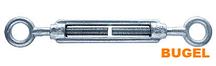 Талреп крюк кольцо-кольцо DIN 1480 6*90
