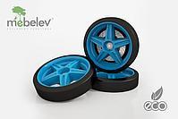 Объемные пластиковые колеса для UNO (комплект 2 шт.), фото 6