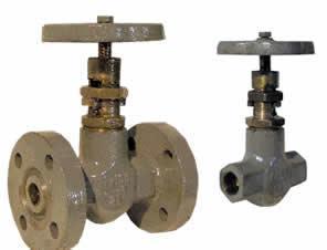 Клапан запорный стальной муфтовый 15с57бк Ру160