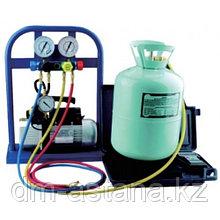 Установка для обслуживания систем кондиционирования, вакуумный насос 72 л/мин., SPIN (Италия)