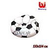 Надувное Кресло-Пуфик Bestway 75010, футбольный (110х114 см)