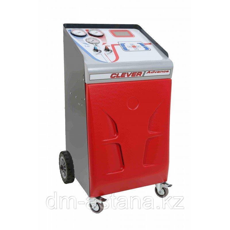 CLEVER ADVANCE EVO PR установка для обслуживания кондиционеров, автомат(фреон R134а), SPIN (Италия)