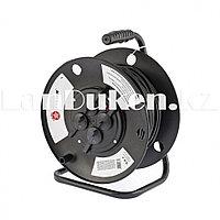 Силовой удлинитель на кабельной катушке серия EB 50 метров 4 розетки IP44 STERN 95708 (002)