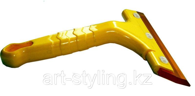 Желтая выгонка с ручкой