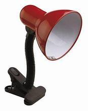 Настольная лампа на прищепке с выключателем