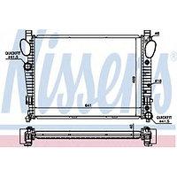 Радиатор MB W220 98-05 R230 >01 C215 99-06