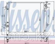 Радиатор Toyota Land Cruiser 120 4.0 >03