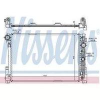 Радиатор MERCEDES C-CLASS W 204 (07-) C 180 CGI (+)