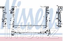 Радиатор VW Transporter 5 Multivan 5 = 1.9-3.2 MT