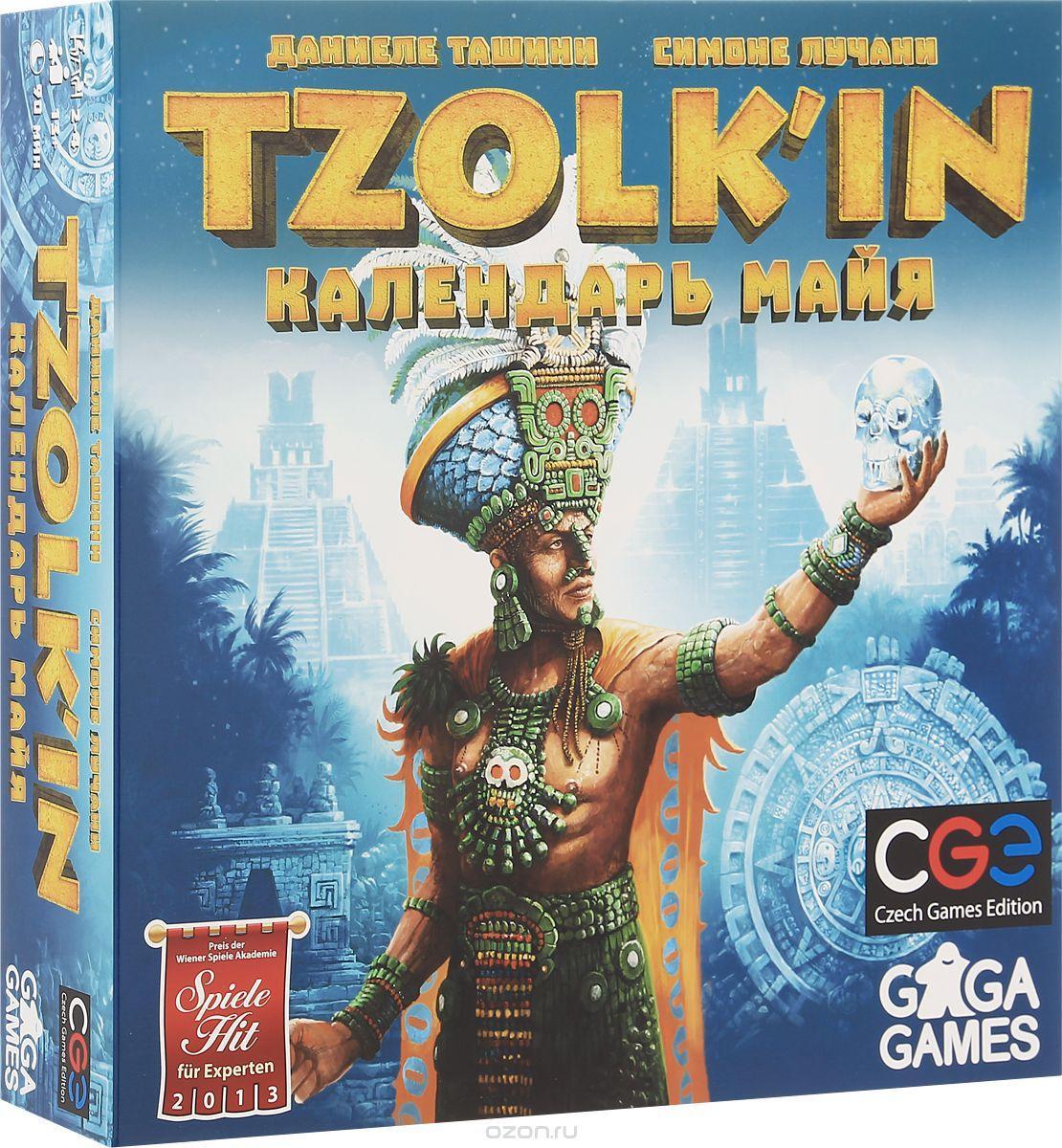 Настольная игра Tzolk'in: The Mayan Calendar (Цолькин. Календарь майя)