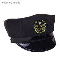 """Шляпа полицейского детская """"Младший лейтенант"""""""