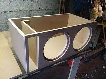 Короба для сабвуферов на заказ - Примеры наших работ 1