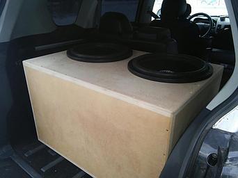 Короба для сабвуферов на заказ - Примеры наших работ 14