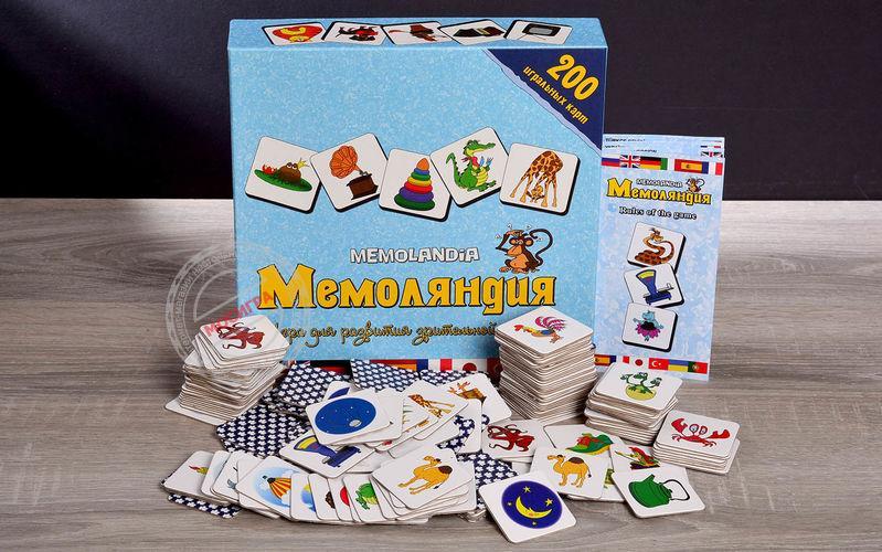 Настольная игра Мемоляндия