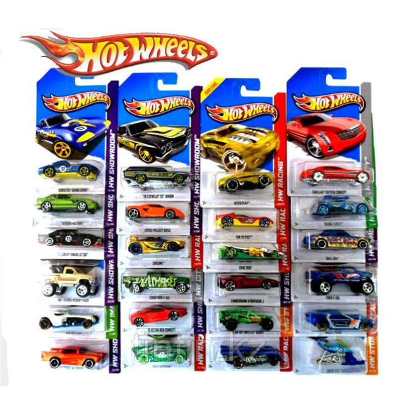 Модельки Hot Wheels, Mattel, Малайзия