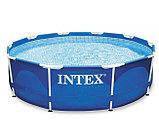 Intex Чаша для каркасного бассейна 305x76см, Metal Frame Pool , фото 2