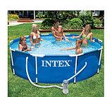 Intex Чаша для каркасного бассейна 305x76см, Metal Frame Pool , фото 3
