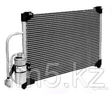 Радиатор кондиционера Volkswagen Golf. V пок. 2003-2008 1.4FSi / 1.4i / 1.6FSi / 1.6i / 2.0FSi / 2.0TFSi / 2.5FSi / 3.2i V6 Бензин