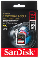 Карты Памяти SanDisk Extreme Pro SDXC UHS Class 3 95MB/s 256GB