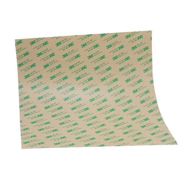 Прозрачный двухсторонний скотч (клей) 3M™ 7955MP в листах (0,127мм) 610ммХ0,914м