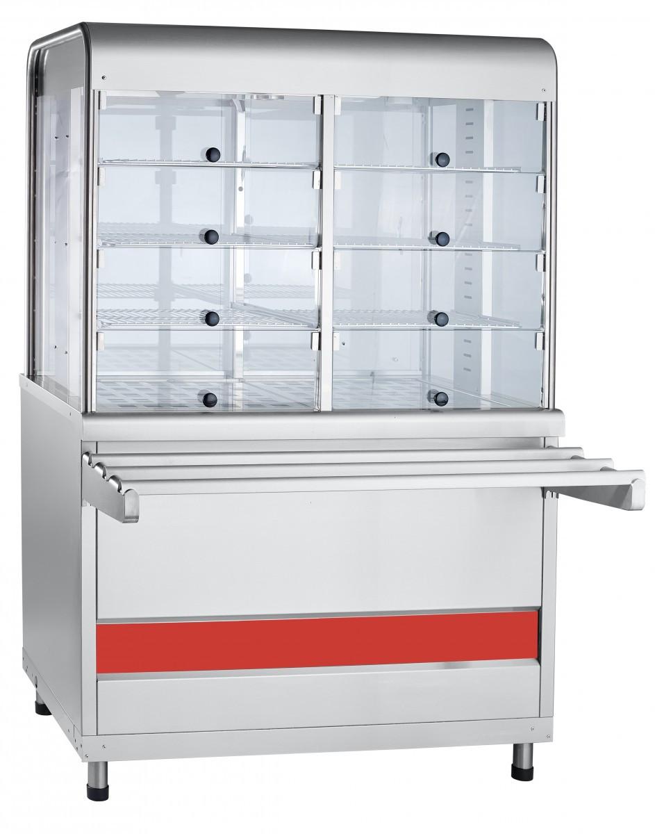 Прилавок витрина тепловаой  ПВТ-70КМ