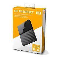 Внешний жесткий диск Western Digital My Passport 4TB USB 3.0