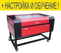 Лазерный гравер с ЧПУ 600*900 мм 60W для резки, гравировки, раскроя, фото 1