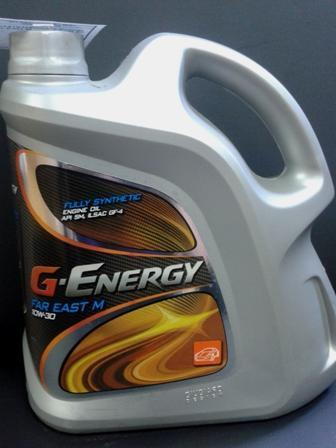 G-Energy Far East 10W-30 синтетика для японских автомобилей 4л