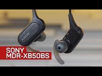 Наушники Sony MDR-XB 50 BS (черные)