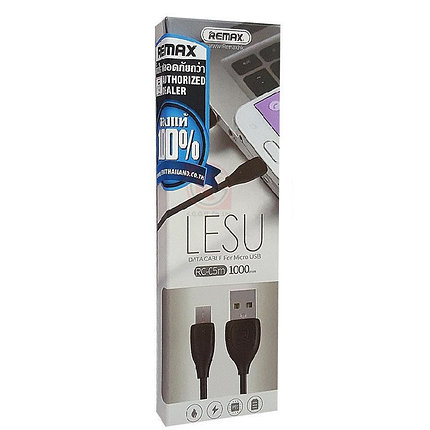 Кабель Remax Lesu Micro USB, фото 2