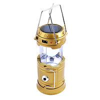 Кемпинговый светодиодный фонарь JH-5800T 6+1 LED с USB выходом