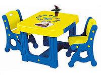 Парты, столы, доски для рисования детские
