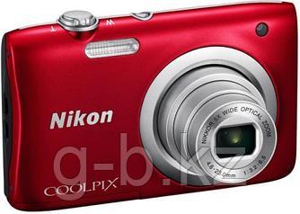 Фотоаппарат компактный Nikon COOLPIX A100 красный