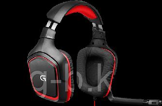 Наушники-гарнитура Logitech G230 черный