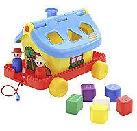 Садовый домик на колесиках (в сеточке)