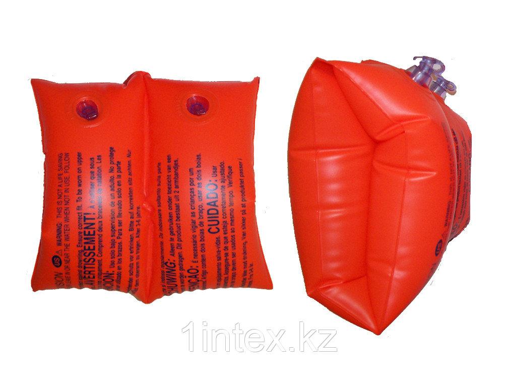 Intex Нарукавники для плавания INTEX красные 25х17см